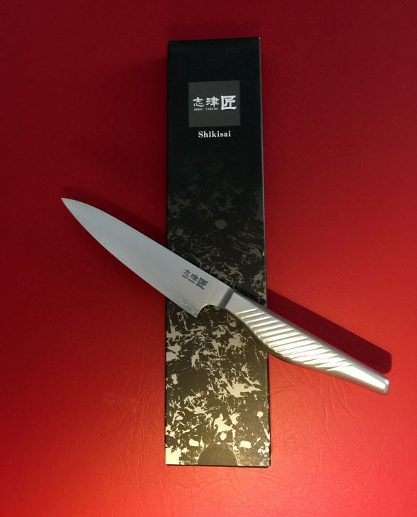 Shikisai KYO Petty Knife 130mm, With Ogg Sharpening edge