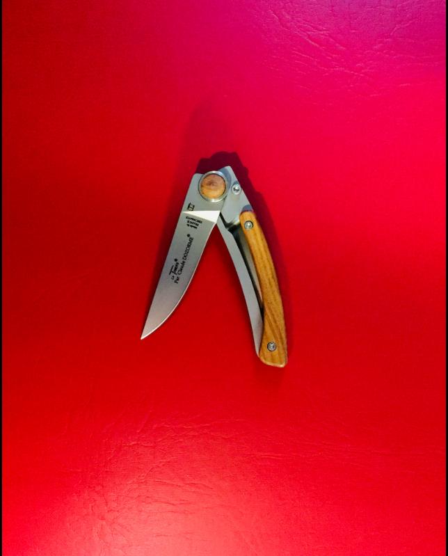 Claude Dozorme Thiers Liner Lock Knife, 9cm blade, Rosewood Handle