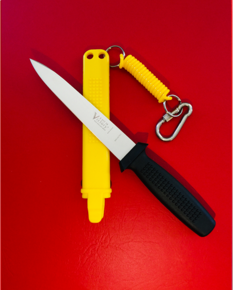 Victory Lanyard for Pigging Knife Sheath, Yellow