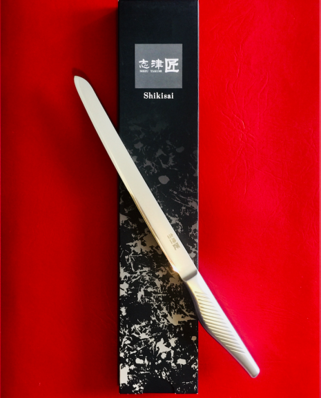 Shikisai Kyo Japanese blade 230mm Filleting/Carving Knife, With Ogg Sharpening edge