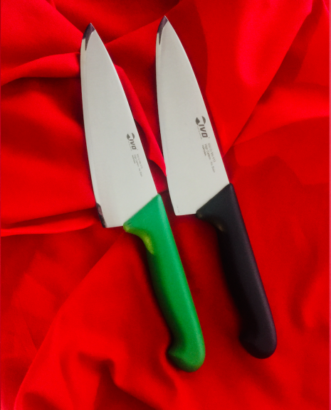 IVO 150mm Chef's, Green,Ogg Sharpening Edge
