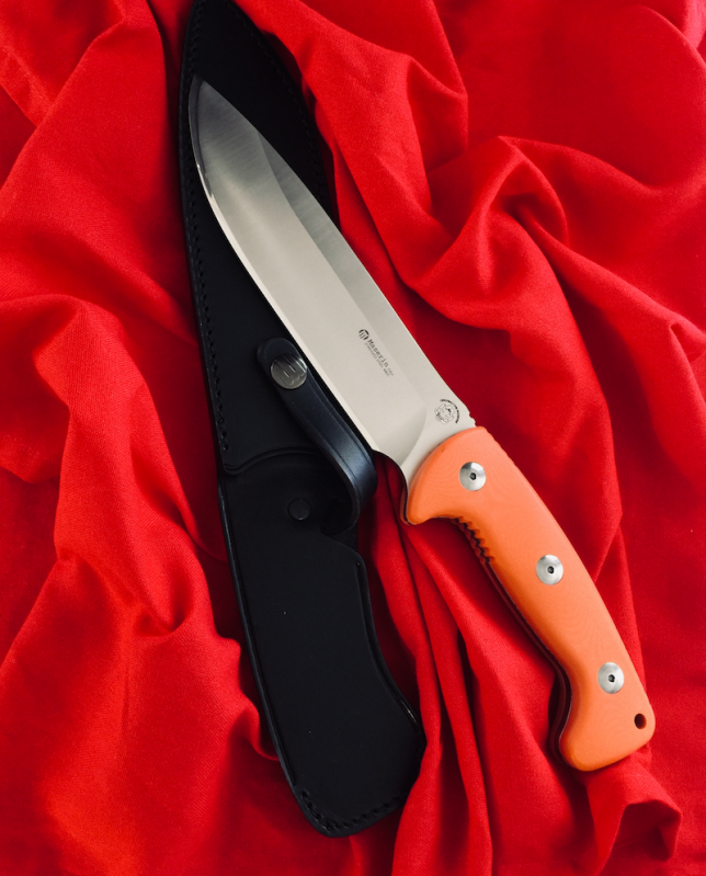 Maserin 978 Hunting Knife With Ogg Sharpening Edge