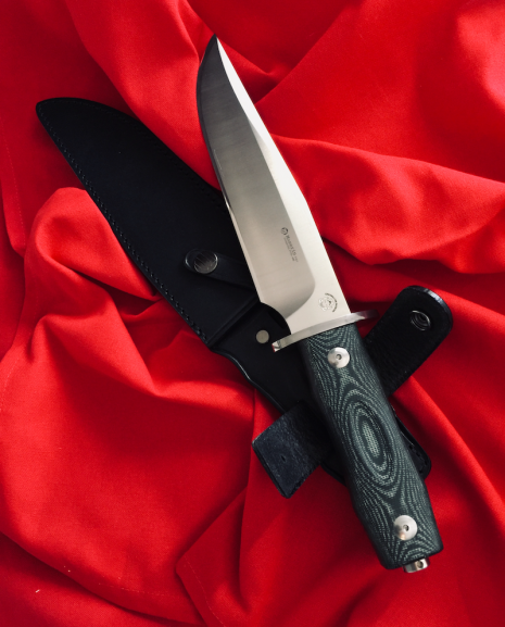 Maserin 977 Bowie Knife With Ogg Sharpening Edge