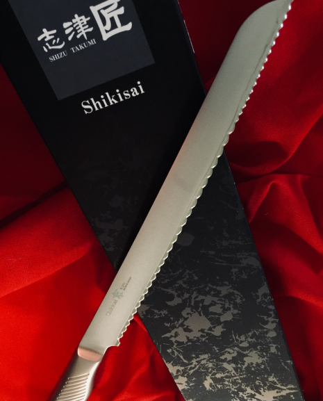Shikisai KYO Bread Knife 230mm